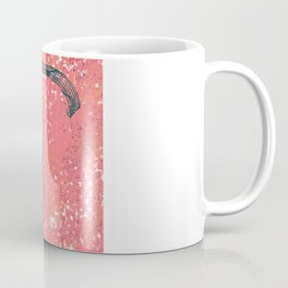 Abstract Eighth musical note digital art Coffee Mug
