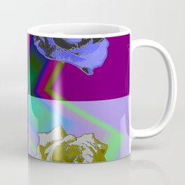 Crossroses lila Coffee Mug