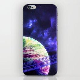 Space Rings iPhone Skin