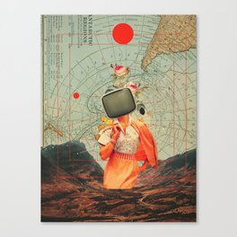 Antarctic Broadcast Canvas Print