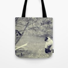 Sitting, Waiting, Wishing Tote Bag