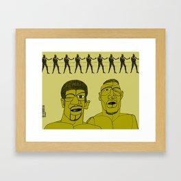 1001 Black Men--#193 Framed Art Print