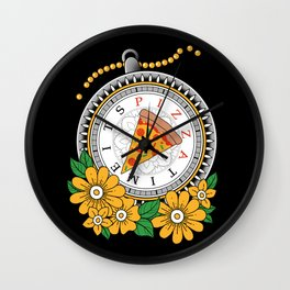 It's Pizza Time Wall Clock