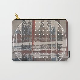 Waterlogged - dot graphic Carry-All Pouch