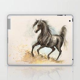 Golden dust under my hooves Laptop & iPad Skin