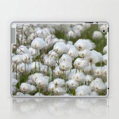 Cotton grass Laptop & iPad Skin
