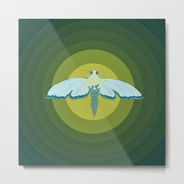 Moth Mystique Metal Print