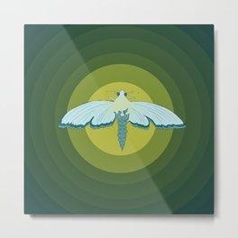 Moth Mystique Metal Print