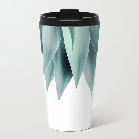 Agave fringe Metal Travel Mug