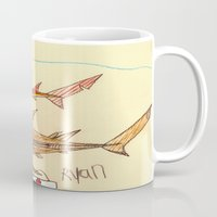 nurse Mugs featuring Nurse Sharks by Ryan van Gogh