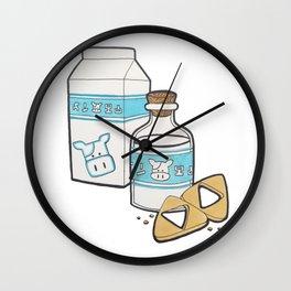 Lon Lon Milk & Cookies Wall Clock