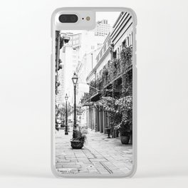 New Orleans Exchange Place Clear iPhone Case