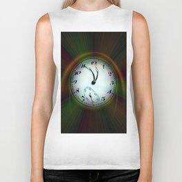 Magic of colors - Time is running out Biker Tank