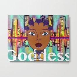 Bantu Goddess Metal Print
