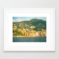 italy Framed Art Prints featuring Italy. by Ashley Jensen