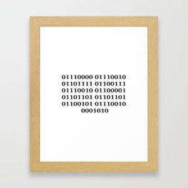 Programmer Framed Art Print