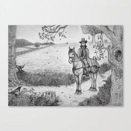 The Witchfinder General Canvas Print