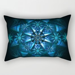 Anasazi Star Mandala Meditation Print Rectangular Pillow