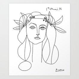 Pablo Picasso War And Peace 1952 Artwork T Shirt, Sketch Art Print