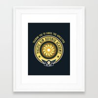 pacific rim Framed Art Prints featuring Pacific Rim Defense Academy by fishbiscuit