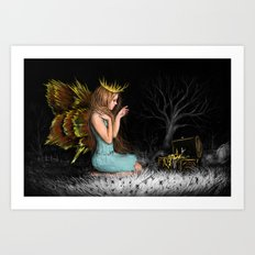 Treasures in the Dark Art Print