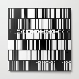 data.error Metal Print