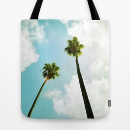 Bright Palms Tote Bag