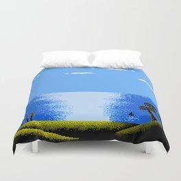 FARAWAY BEACH Duvet Cover