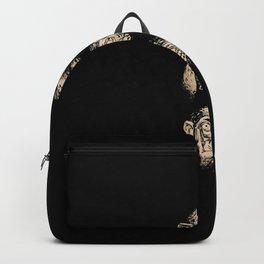 3 wise monkeys Backpack
