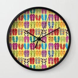 Flip Flop Pop Wall Clock