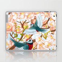 The seasons | Spring birds Laptop & iPad Skin