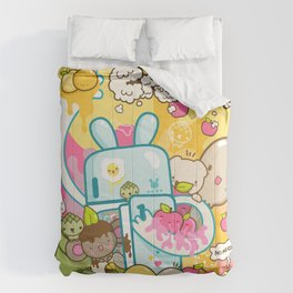 todo con crema! Comforters