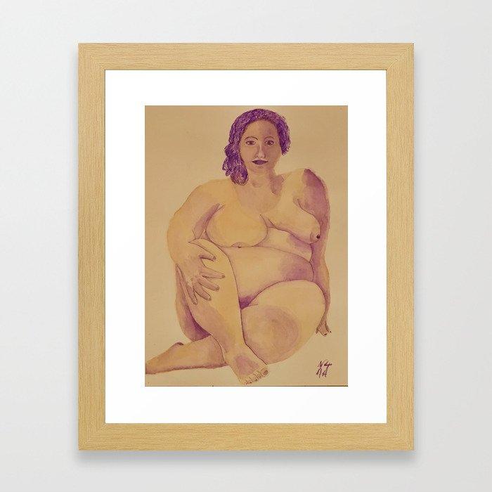 Beauté Française Framed Art Print