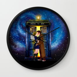 The Last Kiss iPhone 4 4s 5 5s 5c, ipod, ipad, pillow case and tshirt Wall Clock