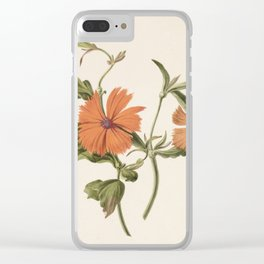 M. de Gijselaar - Yellow Chinese rose (1820) Clear iPhone Case