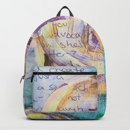 Painted Vow Rose Backpack