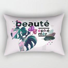 beaute ephemere Rectangular Pillow