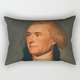 Thomas Jefferson Rectangular Pillow