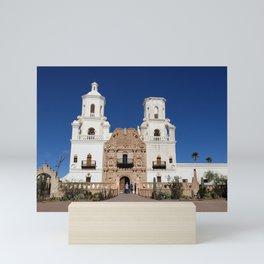 Mission San Xavier Del Bac, Tucson AZ Mini Art Print