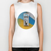 telephone Biker Tanks featuring Telephone by RMK Photography