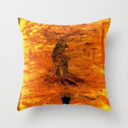 Follow your dreams. Spiritual awakening Throw Pillow
