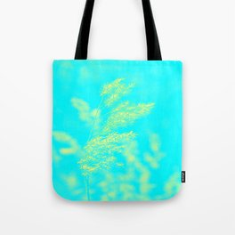 nature -yallow turquoise Tote Bag