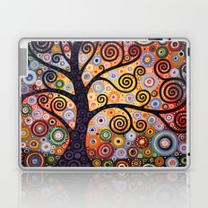 Abstract Landscape Original Painting...WESTERN SUN, by Amy Giacomelli Laptop & iPad Skin