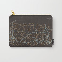 Pennsylvania Highways Carry-All Pouch