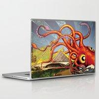 milwaukee Laptop & iPad Skins featuring MILWAUKEE: What's Kraken, Milwaukee? by Amanda Iglinski