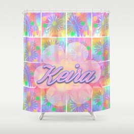 Pink Floral - Keira Shower Curtain
