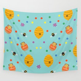 Sweet as Honey Wall Tapestry