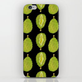 strange fruits (durian) iPhone Skin