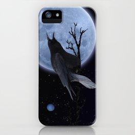 Raven Speak iPhone Case