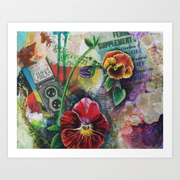 Go Green Art Print